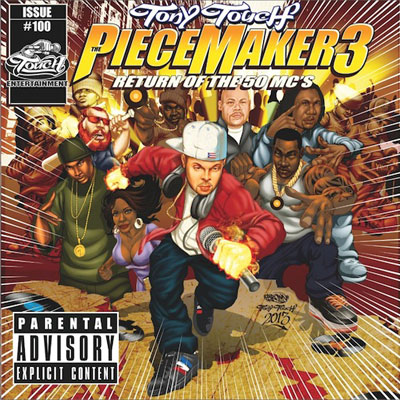 Tony Touch - Piece Maker 3: Return of the 50 MCs Album Cover