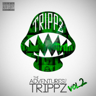 Trippz Michaud - The Adventures of Trippz Vol. 2 Cover
