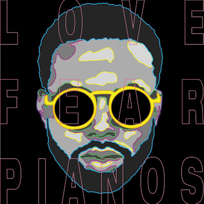 TROY NoKA - Love.Fear.Pianos EP Album Cover