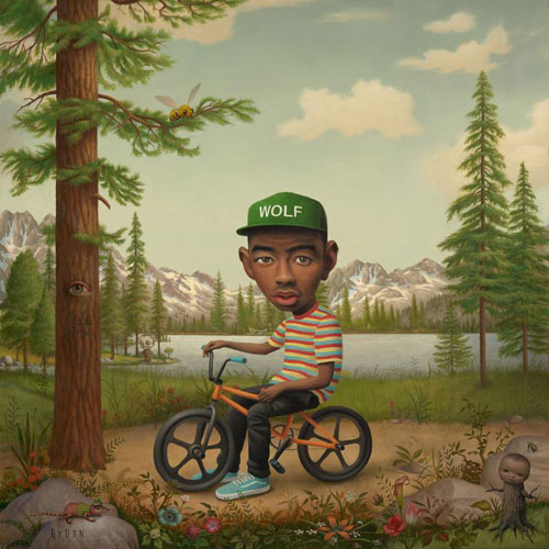 Tyler, The Creator - Wolf Cover