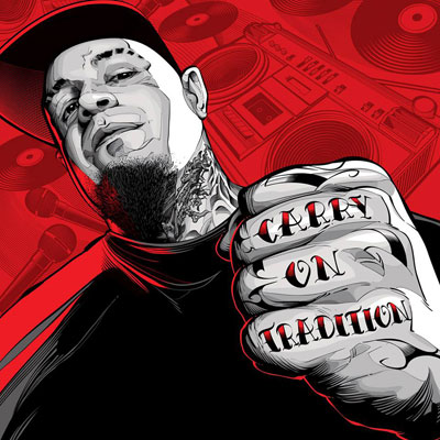 Vinnie Paz - Carry On Tradition EP Album Cover