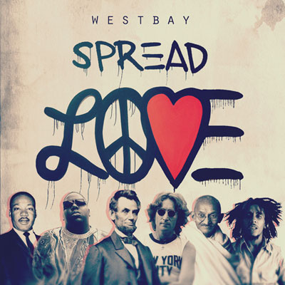 Westbay - Spread Love Cover
