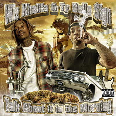 Wiz Khalifa x Ty Dolla $ign - Talk About it in the Morning EP Album Cover