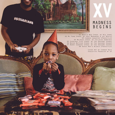 XV - March Madness Vol. 1 (Madness Begins) Cover