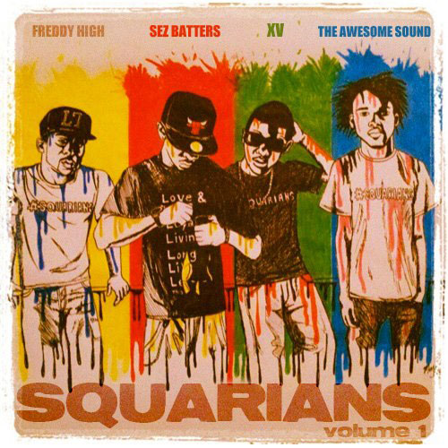 XV - Squarians Vol. 1 Cover