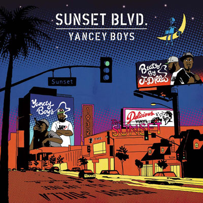 Yancey Boys - Sunset Blvd. Album Cover