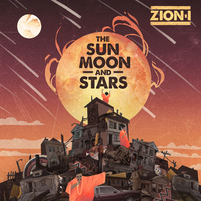 Zion I - The Sun Moon and Stars EP Album Cover