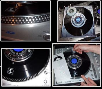 Sensei Haus Technics SL-DZ1200 Vinyl Surface Disc
