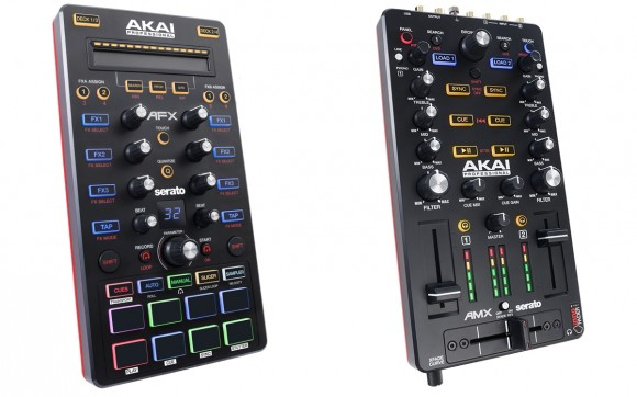 Coming Soon: Akai AFX & AMX Serato DJ Controllers [Video]