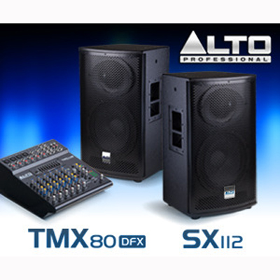 Alto Professional Speakers & Mixer Giveaway Contest