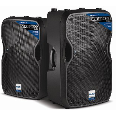 NAMM 2012: Alto Professional Wireless Powered Speakers
