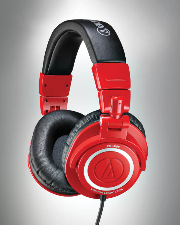Audio-Technica releases ATH-M50RD Limited-Edition Red Headphones