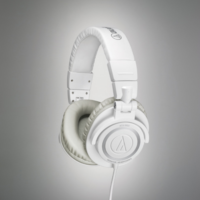Audio Technica ATH-M50WH Headphones Now Shipping