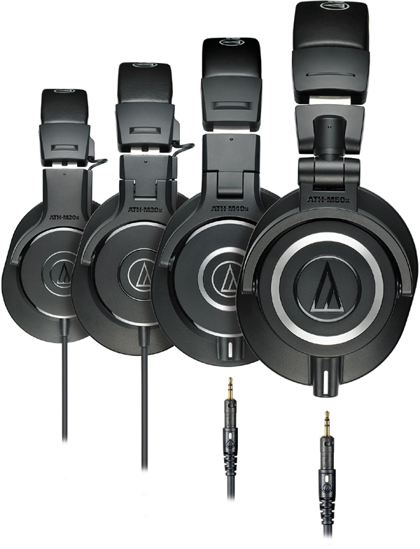 NAMM 2014: Audio Technica M-Series Headphones