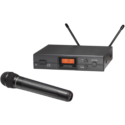 Audio-Technica ATW-2120a Wireless UHF Microphone System & Charger