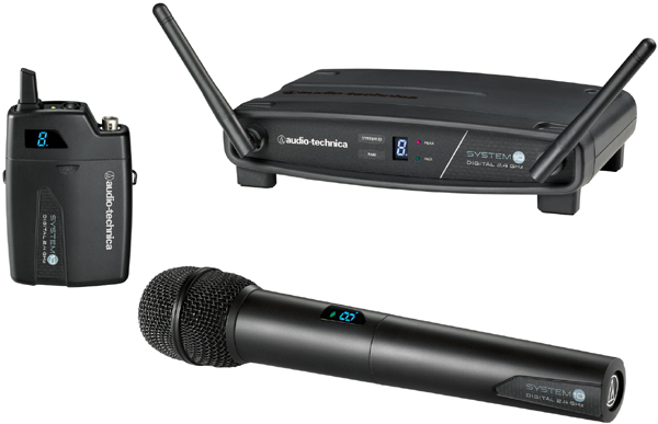 Audio Technica ATW-1102 System 10 Handheld