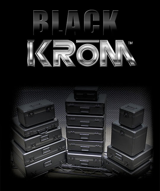Odyssey Introduces Black Krom Cases