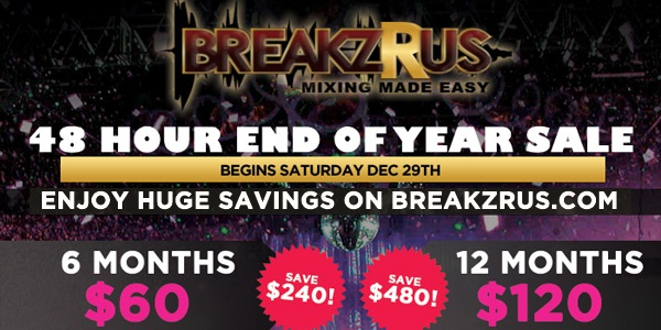 BreakzRUs.com New Years Promotion!