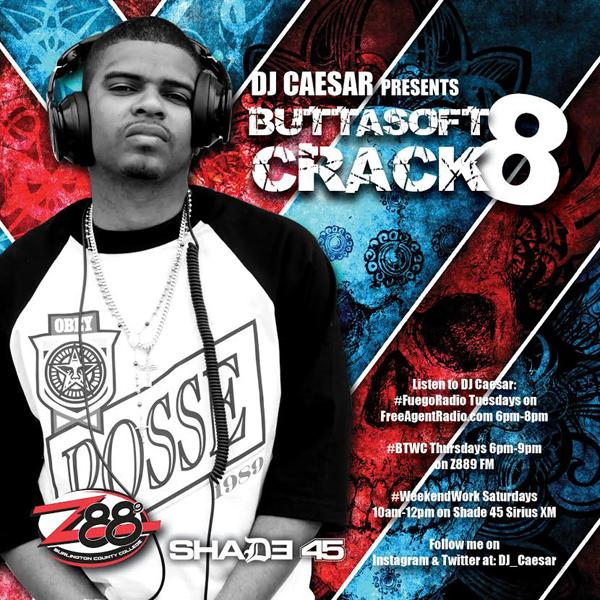 DJ Caesar Releases Buttasoft Crack 8 Mixtape