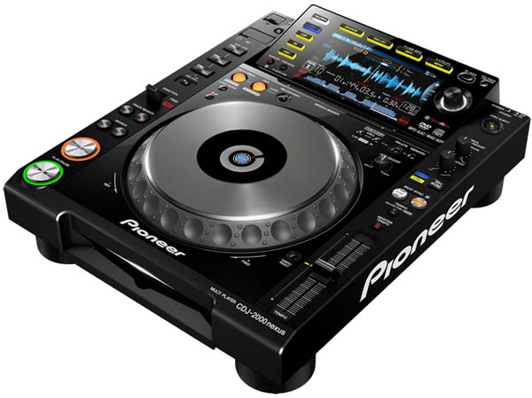 Pioneer CDJ-2000nexus