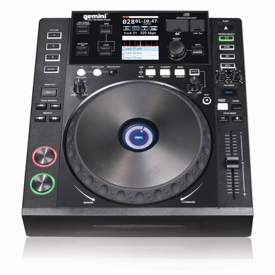 Gemini CDJ-700 Multi-Media Player w/MIDI
