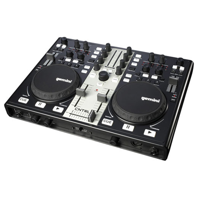 Gemini CNTRL-7 USB DJ Controller First Impressions Video