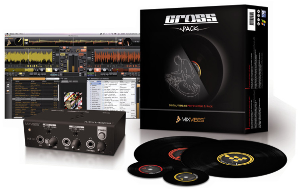 Mixvibes Cross (2.0) Pack Digital Vinyl System