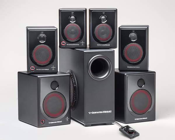 NAMM 2014: Cerwin Vega XD Desktop Speakers