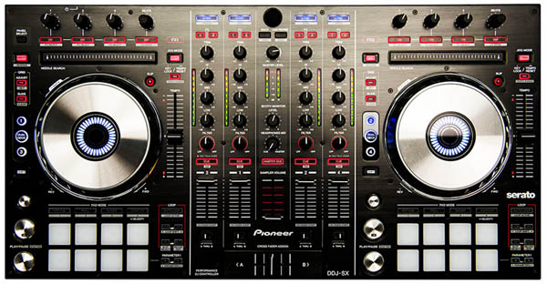 Pioneer DDJ-SX Controller &amp; Serato DJ Software