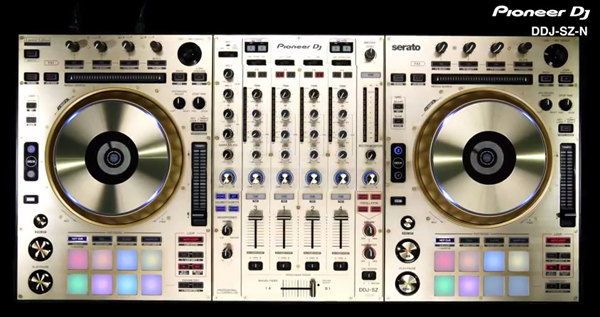 Pioneer DDJ-SZ-N in Gold! [Video]