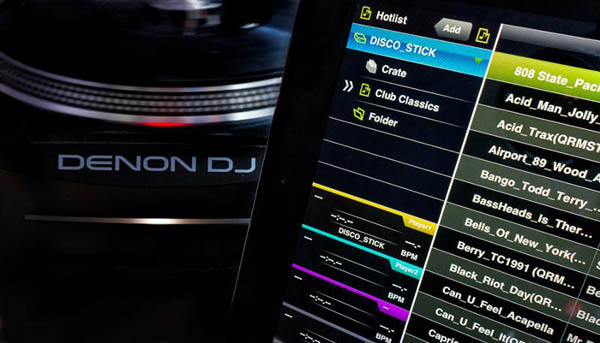Denon DJ Announces Engine Music Management Software