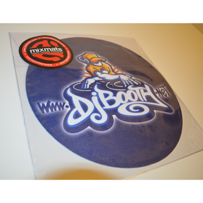 Custom DJbooth.net Mixmats Slip Mats (Video)