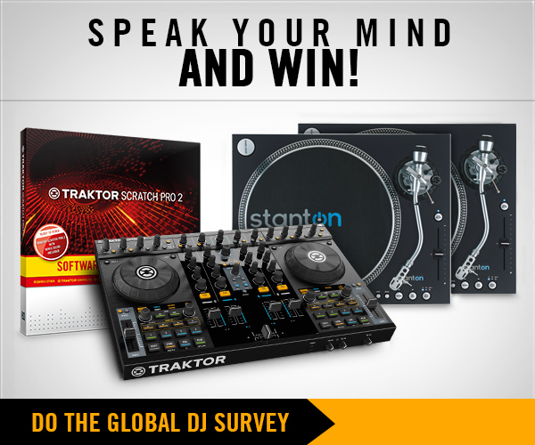 Global DJ Survey: Speak Your Mind & Win