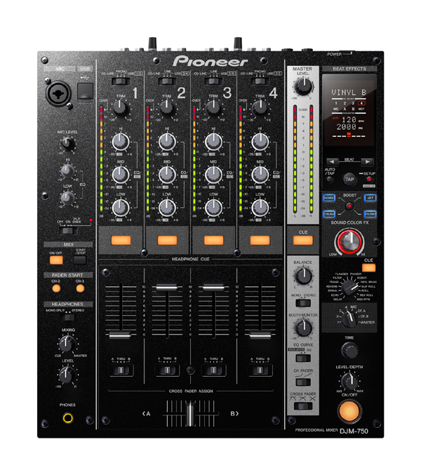 [Video] Pioneer DJM-750 Mixer Announced