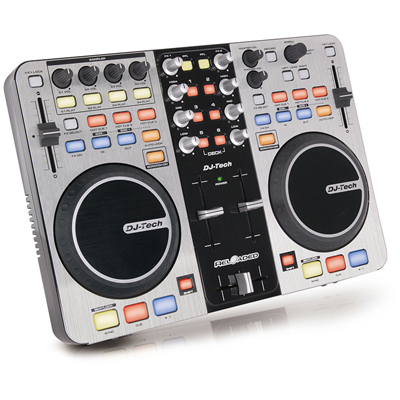 DJ Tech Reloaded USB DJ Controller