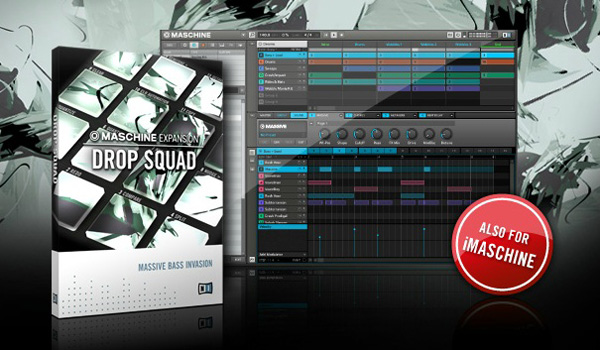 NI Released Drop Squad Maschine Expansion