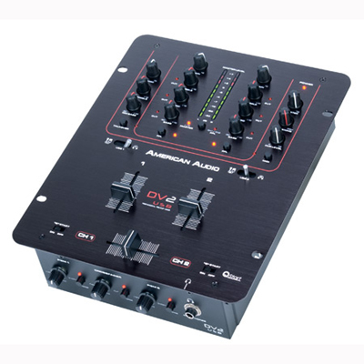 American Audio DV2 USB Mixer