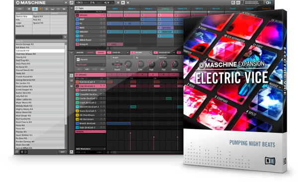 Maschine Expansion: Electric Vice Released