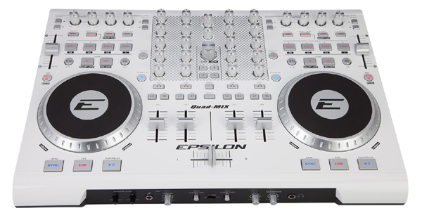 Epsilon Quad-Mix DJ Controller Giveaway Contest [Video]