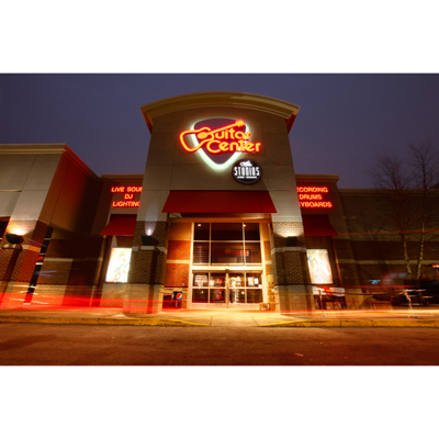 Description. At Guitar Center Louisville, you'll find a huge selection of amps, drums, keyboards, recording gear, DJ equipment, lighting and more from top brands like Fender, Gibson and others.