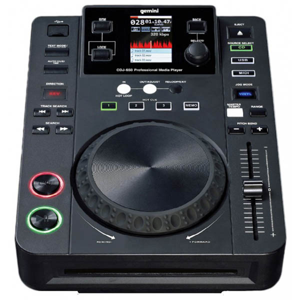 [Video] 2012 DJ Expo - Gemini CDJ-650 Rundown