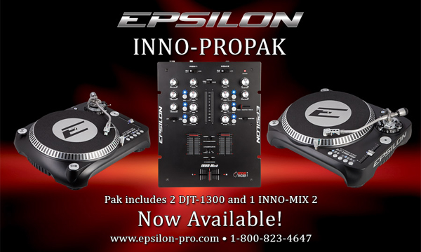 Epsilon Pro INNO-PROPAK DJ Setup [Video]