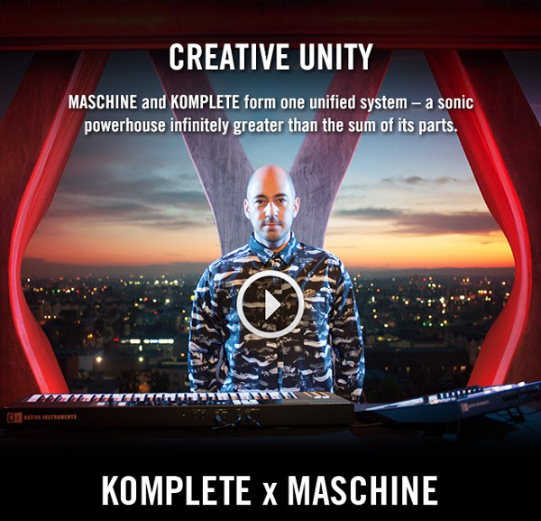 Native Instruments Komplete & Maschine Updates [Video]