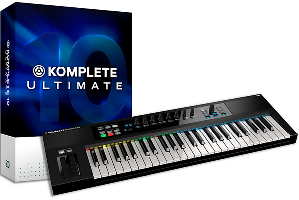 KOMPLETE KONTROL S49 & KOMPLETE  ULTIMATE 10 Unboxing [Video]