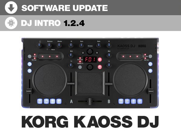 Serato DJ Intro 1.2.4: Korg Kaoss DJ Support