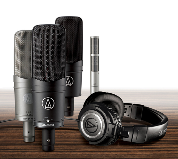 [Production Gear] Free ATH-M50 Headphones with AT 40-Series Mic Purchase