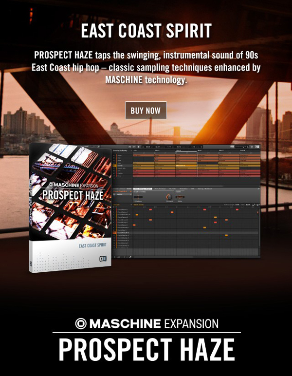 Maschine Prospect Haze Expansion