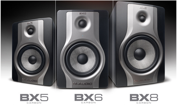 M-Audio BX Carbon Monitors