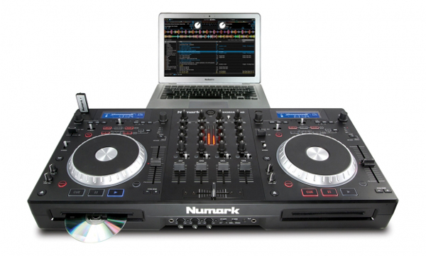Numark Mixdeck Quad Unboxing & First Impressions Video