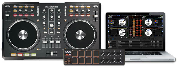 Numark Mixtrack Pro + Akai LPD8 = Free Serato DJ Upgrade